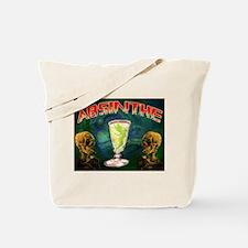 Absinthe Green Fairy Van Gogh Tote Bag