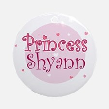 Shyann Ornament (Round)