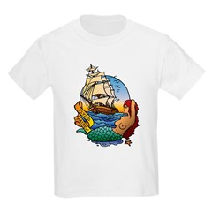 Flying Maiden Kids T-Shirt