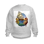 Flying Maiden Kids Sweatshirt