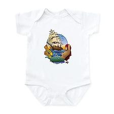 Flying Maiden Infant Bodysuit