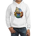 Flying Maiden Hooded Sweatshirt