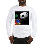 FlagsFootball Long Sleeve T-Shirt