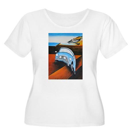 Melting Mini Plus Size T-Shirt