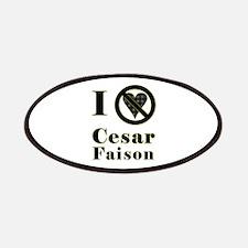 I Hate Cesar Faison Patches