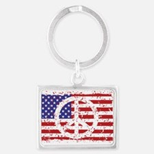 American Peace Keychains