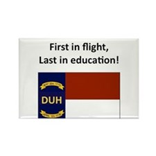 First in flight, last in education! Rectangle Magn