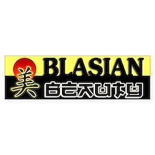 Blasian Beauty Bumper Bumper Sticker