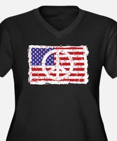 American Peace Plus Size T-Shirt