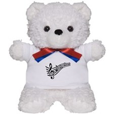 Clef musical notes Teddy Bear