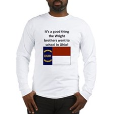 Wright brothers went to school in Ohio Long Sleeve