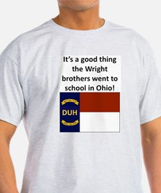 Wright brothers went to school in Ohio T-Shirt
