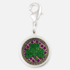 Shamrock And Celtic Knots Charms
