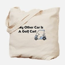 Other Car is a Golf Cart Tote Bag