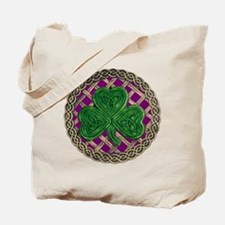 Shamrock And Celtic Knots Tote Bag