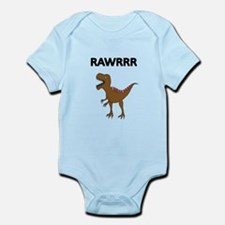 RAWRRR WITH DINOSAUR PICTURE Body Suit