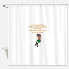 read1 Shower Curtain