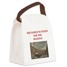 BOOKS3 Canvas Lunch Bag