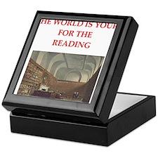 BOOKS3 Keepsake Box