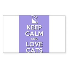 Love Cats Decal