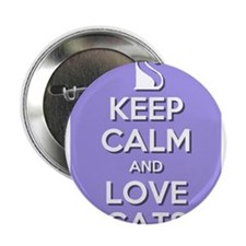 """Love Cats 2.25"""" Button"""