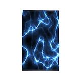 Electric nebula 3x5 Rugs
