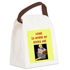 BOOKS2 Canvas Lunch Bag
