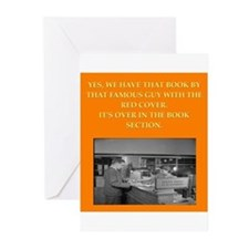 LIBRARY8 Greeting Cards (Pk of 10)