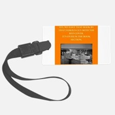 LIBRARY8 Luggage Tag