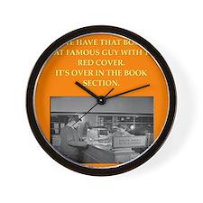 LIBRARY8 Wall Clock