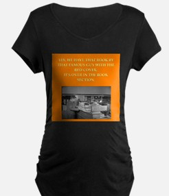 LIBRARY8 Maternity T-Shirt