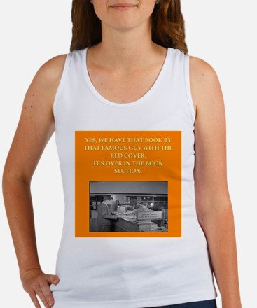 LIBRARY8 Tank Top