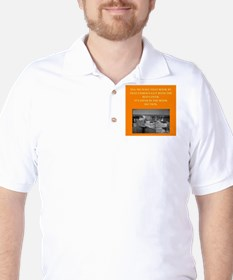 LIBRARY8 Golf Shirt