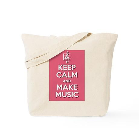 Make Music Tote Bag
