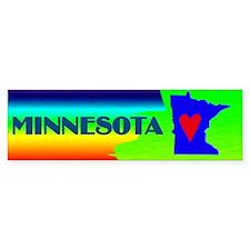 Minnesota Pride Bumper Bumper Sticker