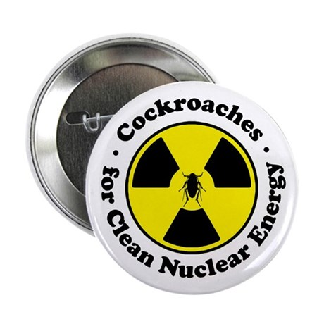 Nuclear Cockroaches Button