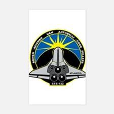 STS-132 Atlantis Sticker (Rectangle)