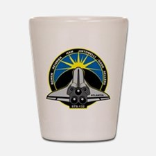 STS-132 Shot Glass