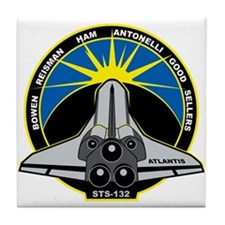 STS-132 Atlantis Tile Coaster