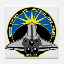 STS-132 Atlantis Tile Coaster