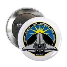 "STS-132 Atlantis 2.25"" Button"