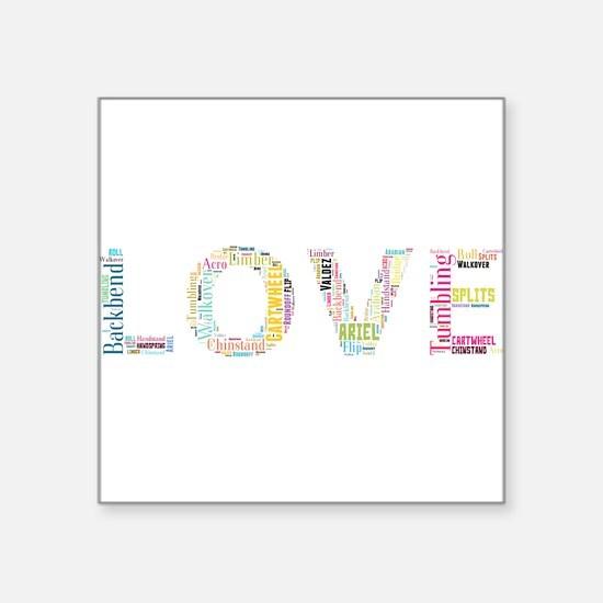Tumbling Love Sticker