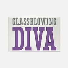 Glassblowing DIVA Rectangle Magnet