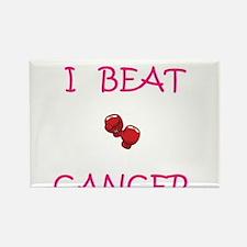 I Beat Cancer Rectangle Magnet