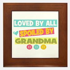 Loved By All Framed Tile