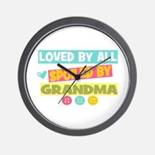Loved By All Wall Clock