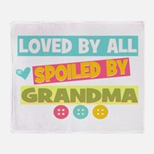 Loved By All Throw Blanket