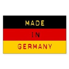 Made In Germany - Flag Decal