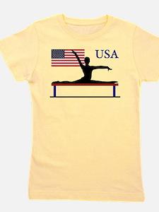 USA Gymnastics Girl's Tee