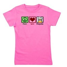 Peace Love Penguins Girl's Tee